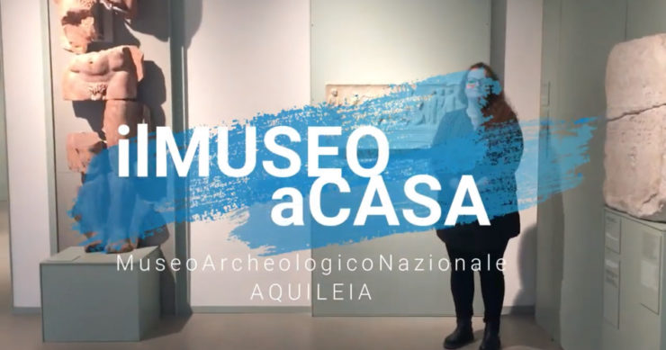 #iorestoacasa con il Museo Archeologico Nazionale di Aquileia